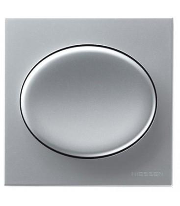 Выключатель в сборе ABB Niessen серии Tacto, серебро