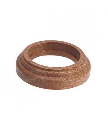 Рамка 1 местная восьмерка Salvador, Дуб коричневый