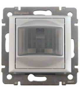 Датчик движения 1000Вт Legrand Valena, ручное управление, с нейтралью, алюминий