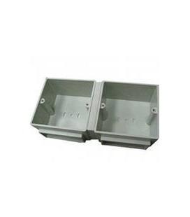 Монтажная коробка для лючка Legrand на 3+3 модуля, пластик