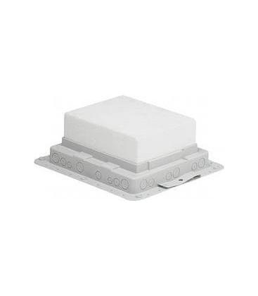 монтажная коробка для встраивания напольных лючков Legrand на 10 и 12 модулей