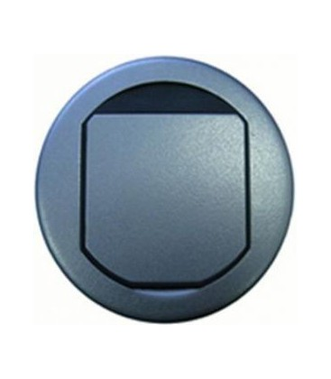 Напольный лючок Bticino на 2 модуля, диаметр 100 мм, оцинкованная сталь