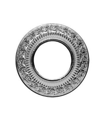 Круглый точечный светильник из латуни, FEDE коллекция SAN SEBASTIAN, блестящий хром