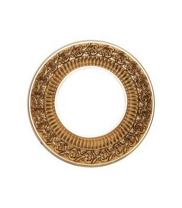 Круглый точечный светильник из латуни, FEDE коллекция SAN SEBASTIAN, блестящее золото