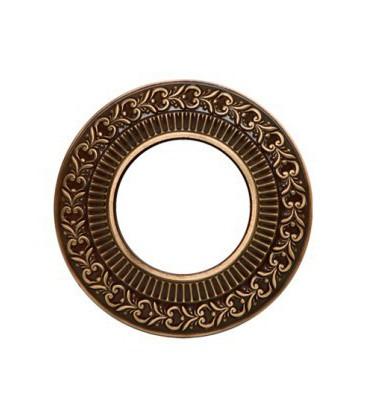 Круглый точечный светильник из латуни, FEDE коллекция SAN SEBASTIAN, патина