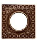 Квадратный точечный светильник из латуни, FEDE коллекция SAN SEBASTIAN, патина