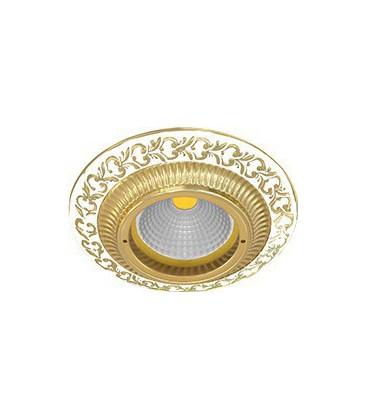 Круглый встраиваемый точечный светильник из латуни, FEDE коллекция SMALTO ITALIANO SAN SEBASTIAN, pearl white