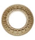Круглый точечный светильник из латуни, FEDE коллекция PRATO, блестящее золото