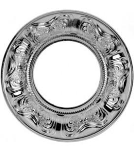Круглый точечный светильник из латуни, FEDE коллекция SIENA, блестящий хром