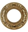 Круглый точечный светильник из латуни, FEDE коллекция SIENA, блестящее золото