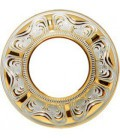 Круглый точечный светильник из латуни, FEDE коллекция SIENA, золото с белой патиной