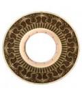 Круглый точечный светильник из латуни с отвертсиями для кристаллов, FEDE коллекция CORDOBA, патина