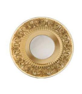 Круглый точечный светильник из латуни IP44, FEDE коллекция CORDOBA, матовое стекло, блестящее золото