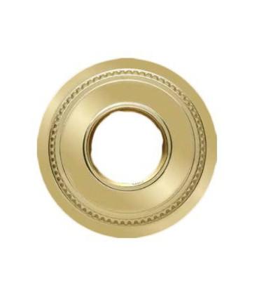 Круглый точечный светильник из латуни FEDE коллекция ROMA MINI, блестящее золото