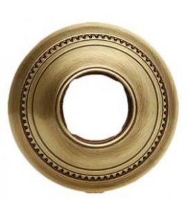Круглый точечный светильник из латуни FEDE коллекция ROMA MINI, патина