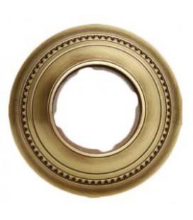 Круглый точечный светильник из латуни FEDE коллекция ROMA, патина