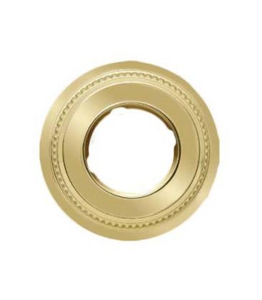 Круглый точечный светильник из латуни FEDE коллекция ROMA, блестящее золото