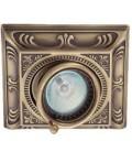 Квадратный встраиваемый одиночный поворотный светильник, FEDE коллекция SIENA SQUARE, патина