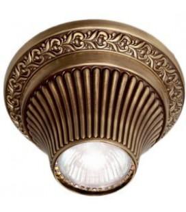 Накладной точечный светильник из латуни, FEDE коллекция VITORIA, патина