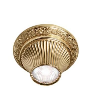 Накладной точечный светильник из латуни, FEDE коллекция VITORIA, блестящее золото