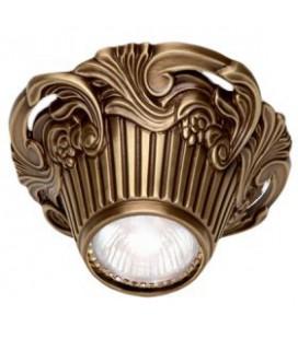 Накладной точечный светильник из латуни, FEDE коллекция Chianti Surface, патина