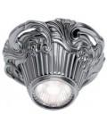 Накладной точечный светильник из латуни, FEDE коллекция Chianti Surface, блестящий хром