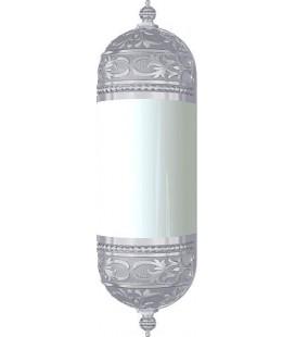 Настенный светильник с плафоном, FEDE коллекция EMPORIO WALL LIGHT I, блестящий хром