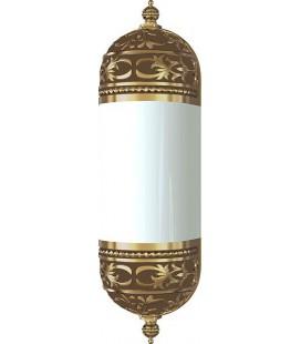 Настенный светильник с плафоном, FEDE коллекция EMPORIO WALL LIGHT I, патина