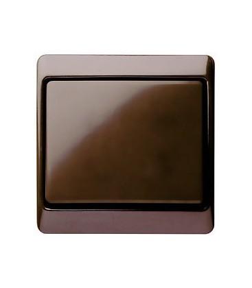 Выключатель в сборе Berker серии Arsys, коричневый с блеском