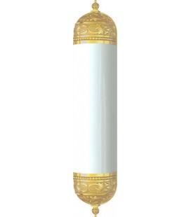Настенный светильник с плафоном, FEDE коллекция EMPORIO WALL LIGHT II, блестящее золото
