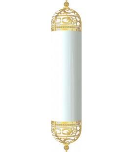 Настенный светильник с плафоном, FEDE коллекция EMPORIO WALL LIGHT II, золото с белой патиной