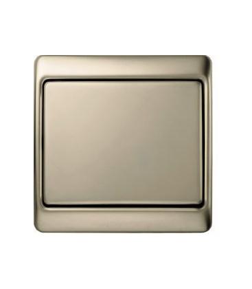 Выключатель в сборе Berker серии Arsys, светло-бронзовый