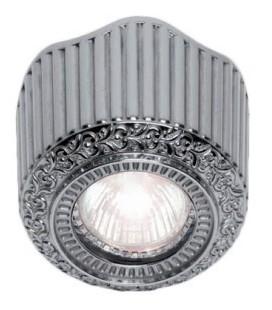Накладной точечный светильник из латуни, FEDE коллекция San Sebastian Surface, блестящий хром