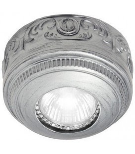 Накладной точечный светильник из латуни, FEDE коллекция ROMA Surface, блестящий хром