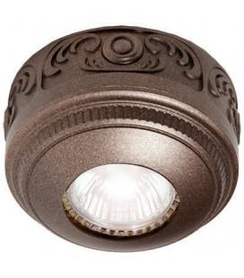 Накладной точечный светильник из латуни, FEDE коллекция ROMA Surface, soft rustic copper
