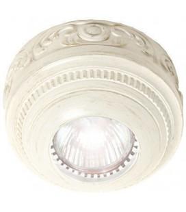 Накладной точечный светильник из латуни, FEDE коллекция ROMA Surface, white decape