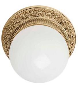 Накладной точечный светильник из латуни в сборе, FEDE коллекция BILBAO I, блестящее золото