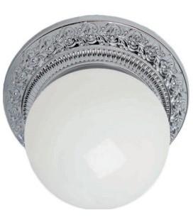 Накладной точечный светильник из латуни в сборе, FEDE коллекция BILBAO I, блестящий хром