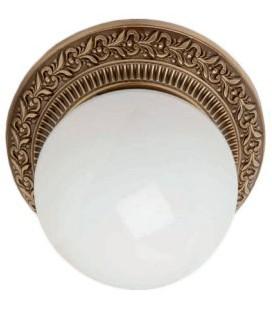 Накладной точечный светильник из латуни в сборе, FEDE коллекция BILBAO I, патина
