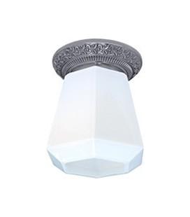 Накладной точечный светильник из латуни в сборе, FEDE коллекция BILBAO I DECO, блестящий хром