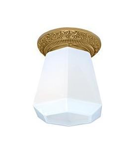Накладной точечный светильник из латуни в сборе, FEDE коллекция BILBAO I DECO, блестящее золото
