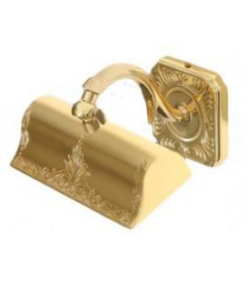 Светильник из латуни для подсветики картин, малая модель, FEDE коллекция SIENA, блестящее золото