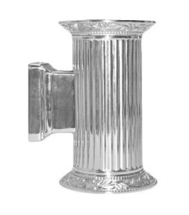 Настенный светильник из латуни, FEDE коллекция PARIS up and down, блестящий хром