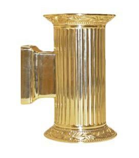 Настенный светильник из латуни, FEDE коллекция PARIS up and down, блестящее золото