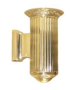 Настенный светильник из латуни, FEDE коллекция PARIS up or down, блестящее золото