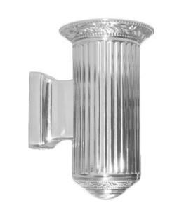 Настенный светильник из латуни, FEDE коллекция PARIS up or down, блестящий хром