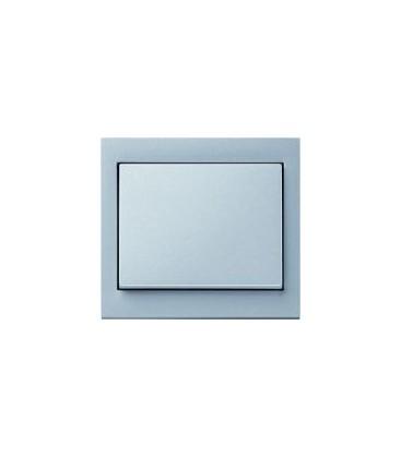 Выключатель в сборе Berker серии K.1, алюминий
