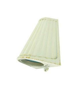 Накладной настенный светильник с матовым стеклом, FEDE коллекция BARI OPAQUE GLASS, white decape