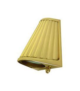 Накладной настенный светильник с матовым стеклом, FEDE коллекция BARI OPAQUE GLASS, bright gold