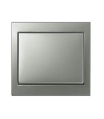 Выключатель в сборе Berker серии K.5, нержавеющая сталь